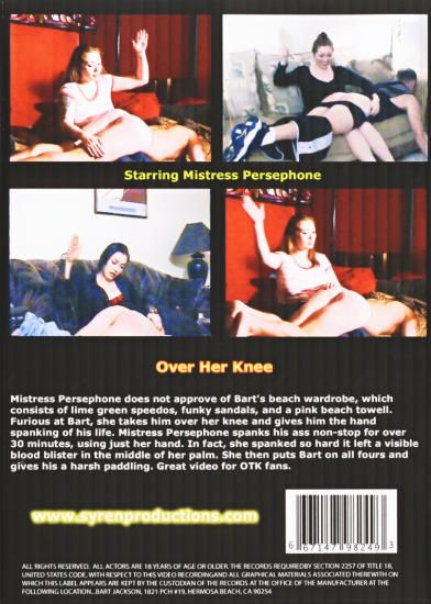 Over Her Knee - DVD