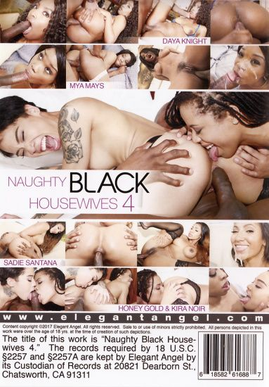 Naughty Black Housewives 4 - DVD